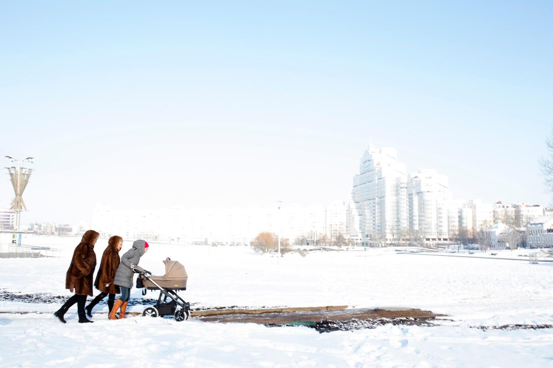 Minsk in Winter, 2018