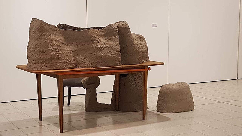 Autorretrato - Museo Provincial de Bellas Artes Emilio Pettoruti, La Plata, Buenos Aires, 2018 Muestra grupal Fuego Sagrado