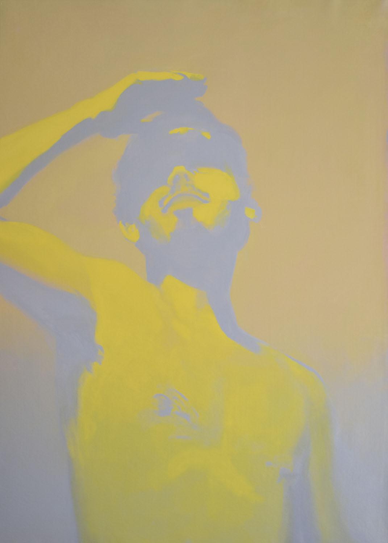 """""""Luz cegadora""""Acrílico sobre tela.100x140cm. 2020"""