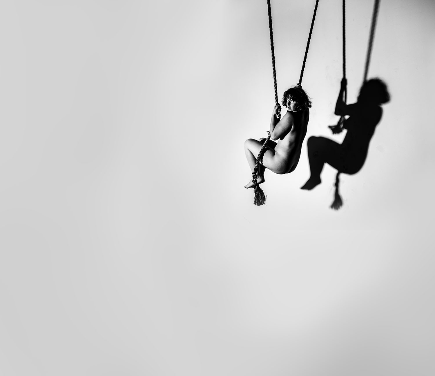 Rope Swing 2019 15in x 15 in carbon pigment print