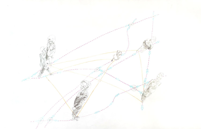S_T .Lápiz color y grafito 95x60. 2020
